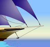 sailboat απεικόνισης διάνυσμα Στοκ εικόνες με δικαίωμα ελεύθερης χρήσης