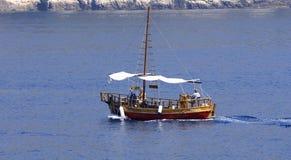 Sailboat γύρος της αδριατικής θάλασσας Στοκ φωτογραφίες με δικαίωμα ελεύθερης χρήσης