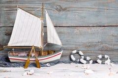 Sailboat διακόσμηση Στοκ φωτογραφίες με δικαίωμα ελεύθερης χρήσης