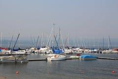 Sailboat λιμάνι Στοκ Εικόνα