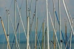 Sailboat ιστοί στοκ φωτογραφίες με δικαίωμα ελεύθερης χρήσης