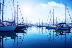 Sailboat λιμένας Στοκ Εικόνες