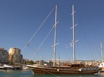sailboat μαρινών στοκ εικόνες