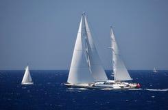 Sailboat πολυτέλειας Στοκ Φωτογραφία
