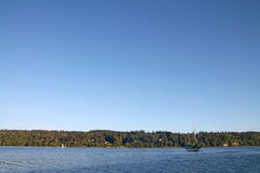 Sailboat στο λιμάνι νησιών Vashon στοκ φωτογραφίες με δικαίωμα ελεύθερης χρήσης