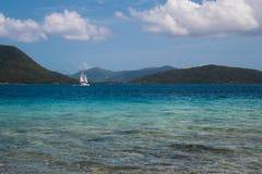 Sailboat στο κανάλι παπιών του Francis Στοκ εικόνες με δικαίωμα ελεύθερης χρήσης