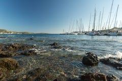 Sailboat συμμετέχει το 12ο φθινόπωρο 2014 Ellada regatta ναυσιπλοΐας Στοκ εικόνες με δικαίωμα ελεύθερης χρήσης
