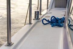 sailboat σχοινιών λεπτομέρειας γεφυρών παλαιό ύφος Στοκ εικόνες με δικαίωμα ελεύθερης χρήσης