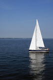 Sailboat. Beautiful sailboat in Baltic sea Royalty Free Stock Photography