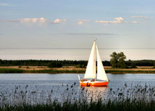 Sailboat.  stock image