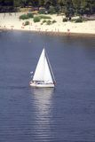 sailboat Στοκ εικόνες με δικαίωμα ελεύθερης χρήσης