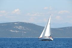 A Sailboat Royalty Free Stock Photos