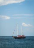 A sailboat at andaman  sea Stock Photography