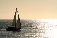 Sailboat At Sunset Stock Photography