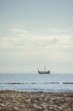 sailboat in Baltic sea Stock Photography