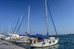 Sailboat, Boat, Sail, Sky Stock Image
