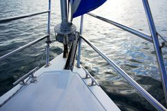Sailboat Bow Royalty Free Stock Photos