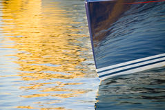 Sailboat Bow Stock Images