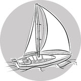 Sailboat Stock Image