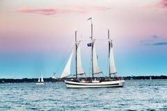 Sailboat in Charleston, South Carolina Stock Photography