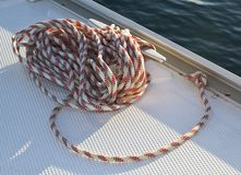 Sailboat cord Stock Photography