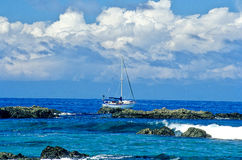 Sailboat- Costa Rica Royalty Free Stock Images