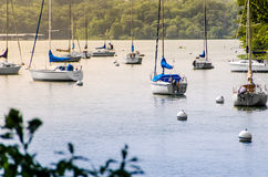 Sailboat Cove Royalty Free Stock Image