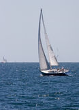 Sailboat Cruising Stock Image