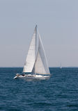 Sailboat Cruising Stock Images