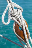 Sailboat Deadeye 2 Royalty Free Stock Images