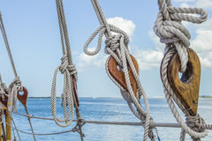 Sailboat Deadeyes 2 Stock Image