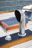 SAILBOAT DECK Stock Images