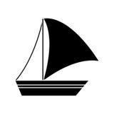 sailboat design Stock Image