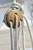 Sailboat detail Royalty Free Stock Image