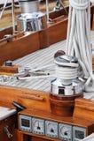 Sailboat detail royalty free stock photo