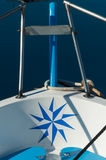 On the sailboat , detail Royalty Free Stock Image