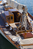Sailboat details Royalty Free Stock Images