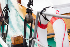 Sailboat Details Royalty Free Stock Image