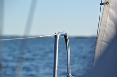 Sailboat details Royalty Free Stock Photo