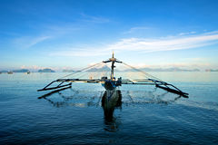 Sailboat in El Nido Stock Photo