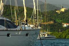 Sailboat in Grenada Stock Photography