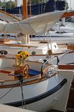 sailboat harborharbor Στοκ Φωτογραφίες