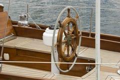 Sailboat helm Royalty Free Stock Photos