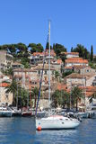 Sailboat Hvar Croatia Royalty Free Stock Photos