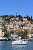 Sailboat Hvar Croatia Royalty Free Stock Photos
