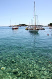 Sailboat Hvar Croatia Royalty Free Stock Image