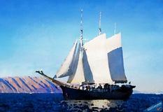 Sailboat - ID: 16235-142757-6204 Royalty Free Stock Photos