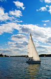 Sailboat On A Lake Stock Photography