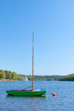 Sailboat in lake Royalty Free Stock Image