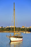 Sailboat in Majorca Royalty Free Stock Photo